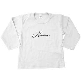 Shirt | Naam sierlijk