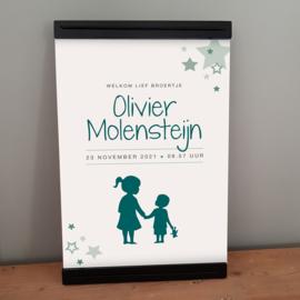 Geboorteposter Olivier