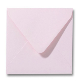 Enveloppen lichtroze 140 x 140 mm