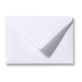 Enveloppen wit 110 x 156 mm