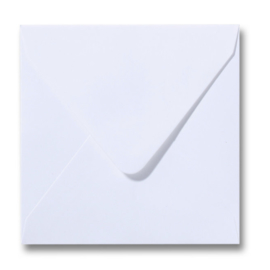 Enveloppen wit 140 x 140 mm