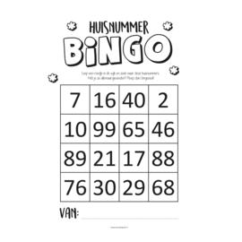 Huisnummer Bingo