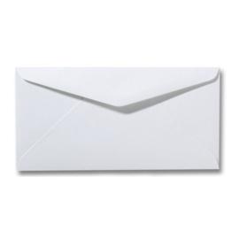 Enveloppen wit 220 x 110 mm