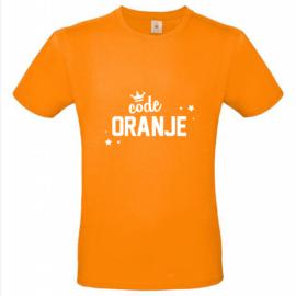 Shirt volwassene | Code oranje