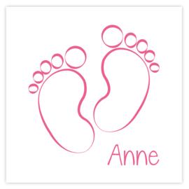 Geboortekaart Anne