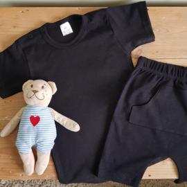 Zomer pyjama | Zwart