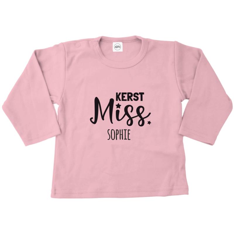 Shirt | Kerst Miss met naam