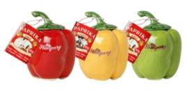 "Zoete paprika in geglazuurde paprika ""DUNA"" (geel)"
