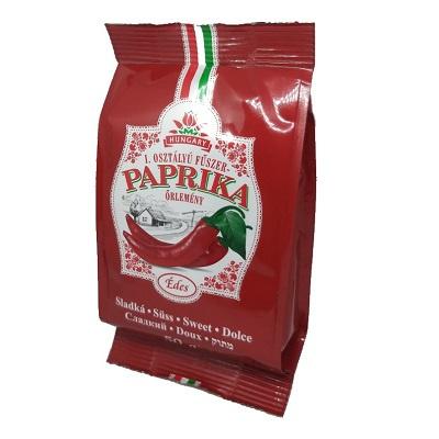 Zoete paprika poeder (Hongaars) zakje 50 gram