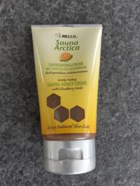 Mellis Honingscrub crème met bergbraambeszaden 150 ml