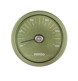 Rento Design thermometer groen