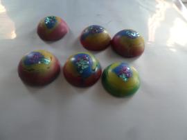Kleurrijke Waxmelt met Glitter