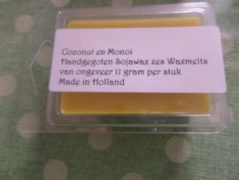 Coconut en Monoi Wax Melts