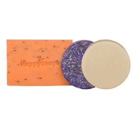 Happy Bundel met Shampoo Bar, Body Bar en Conditioner Bar