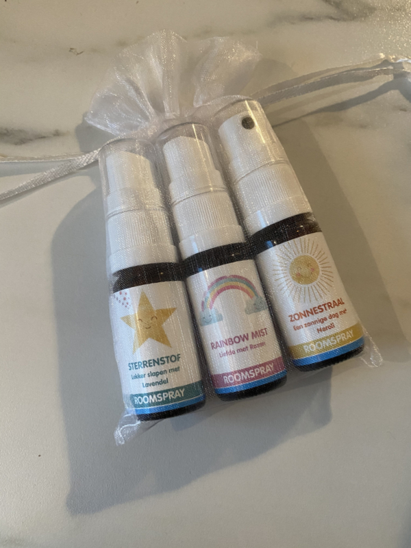 Cadeauset Roomspray Baby