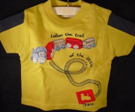 T-shirt, trein, Picco Mini, mt 18 mnd
