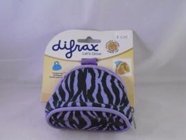 Fopspeentasje Difrax paars