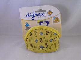 Fopspeentasje Difrax geel