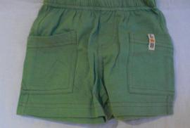 Korte broek, groen, Little boy star, mt 62