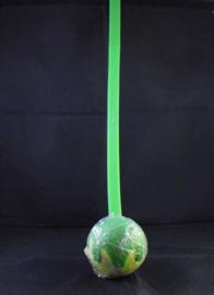 Ballenwerpstick voor honden, groen