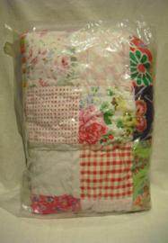 Patchwork deken, 105 x 144 cm