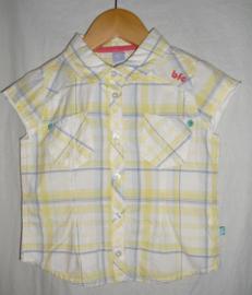 Geruite blouse met korte mouwen, BFC, mt 86