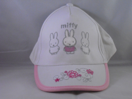 Pet Miffy wit, mt 52