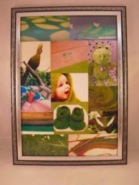 Fotoschilderij, groen nr 2