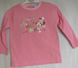 Tuniek met lange mouwen, Forest friends, Minnie Mouse, mt 12 mnd