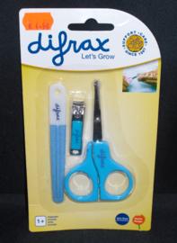 Baby manicure-set, blauw, difrax