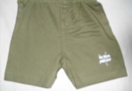 Korte broek, groen, Little star, mt 86