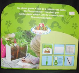 Onderzoekskoffer; 'Hoe planten groeien'