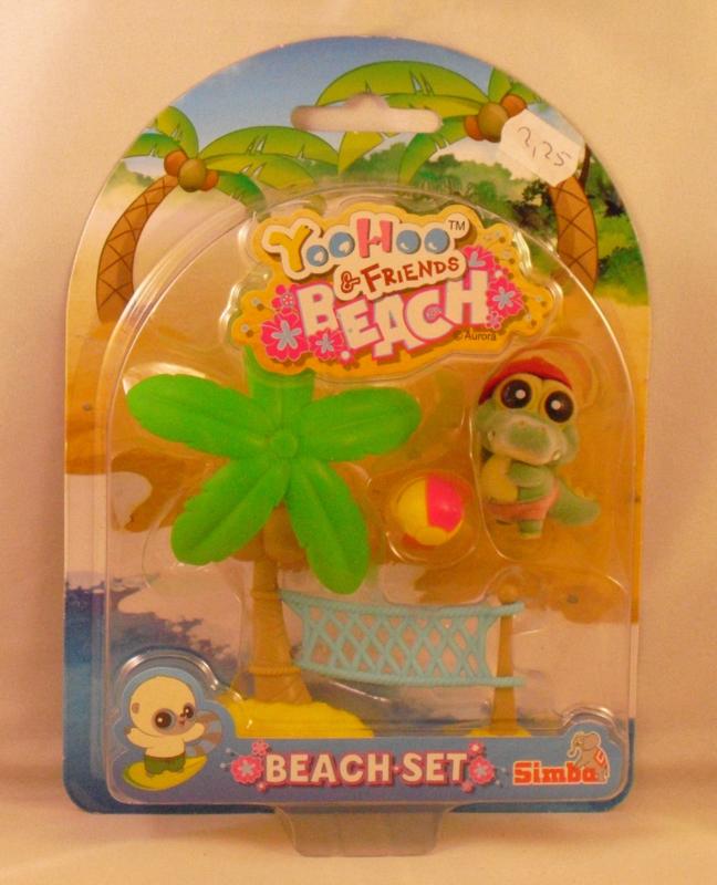 Yoohoo & Friends, beach set, Krokodil