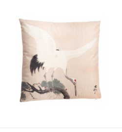 Kraanvogel kussen | HomeSociety