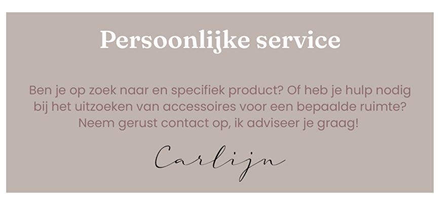 Persoonlijke service door Carlijn   Vita32