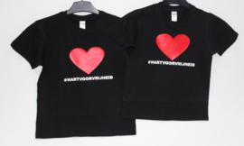 Kinder T-shirts #HARTVOORVRIJHEID