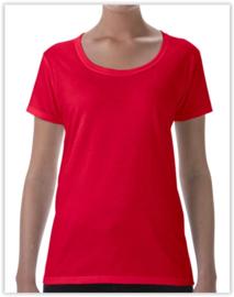 Dames T-shirt Gildan
