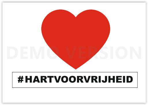 Letters   #HARTVOORVRIJHEID