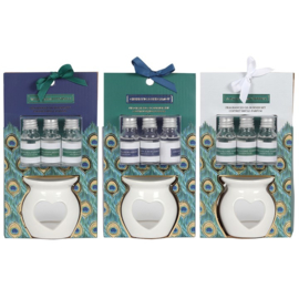 PEACOCK OLIE BURNER GIFT SET