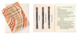 Verjaardagsgeurenkaart met 3x2 wierookstokjes