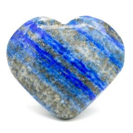 Hart knuffelsteen lapis lazuli