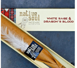 Native Soul White Sage & Dragon's Blood 15gr