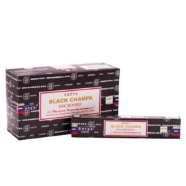 Black Nag Champa  Wierookstokjes 15gr