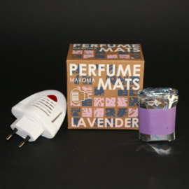 Lavender Aroma, 10x matjes, 1x Electric Diffuser