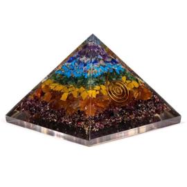 Orgoniet Piramide 7 Chakra's