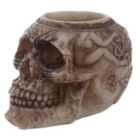Skull Tealight Holder / MODEL 3