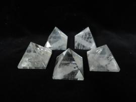 Piramide Bergkristal Arkansas 1 stuk
