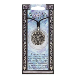 WEDEROPSTANDING WICCAN AMULET KETTING