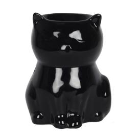zwarte kat olie/wax brander