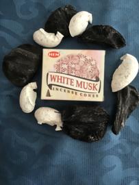 Hem wierook kegels white musk